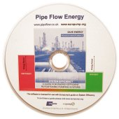 Pipe Flow Energy Software on CD