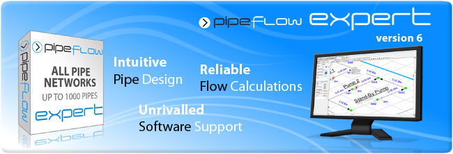 Piping Design Software: Pipe Flow and Pressure Drop Calculations